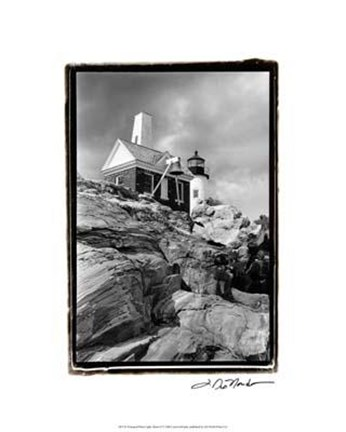 Framed Pemaquid Point Light, Maine II Print