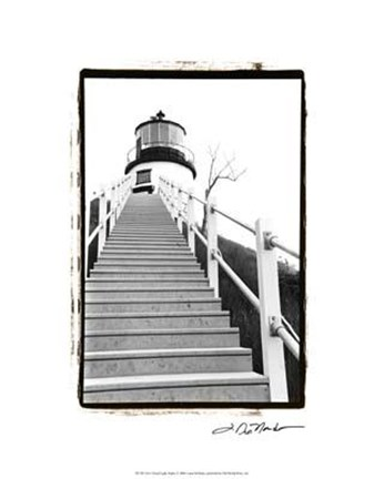 Framed Owl's Head Light, Maine Print