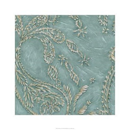 Framed Tiffany Lace II Print