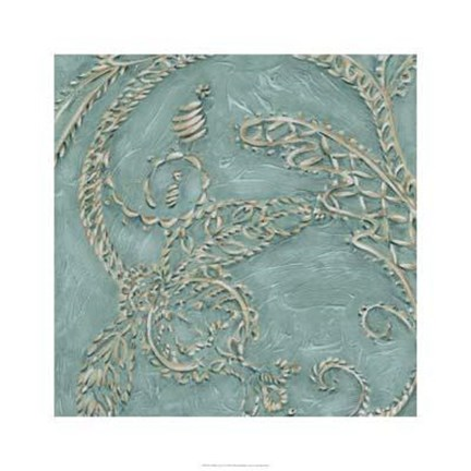 Framed Tiffany Lace IV Print