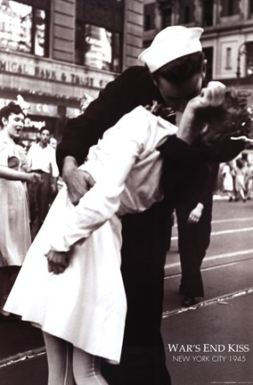 Kissing The War Goodbye Vj Day Times Square August 14