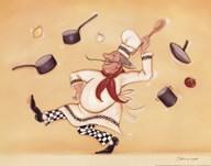 Dancing Chef  Fine Art Print