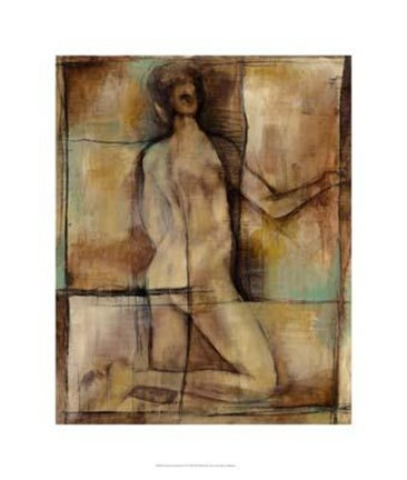 Framed Abstract Proportions II Print