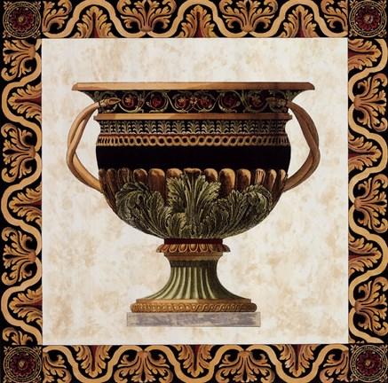 Roman Urn I Fine Art Print By Ltd Old World Prints At