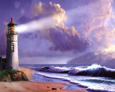 Lighthouse Dreaming Fine Art Print By Steve Sundram At