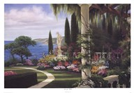 Seaside Villa  Fine Art Print