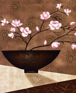 Cherry Blossom in Bowl Art