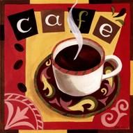 Italian Cafe  Fine Art Print