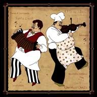 Musical Chefs I  Fine Art Print