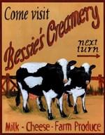 Bessie's Creamery  Fine Art Print