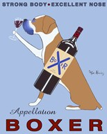 Appellation Boxer  Fine Art Print