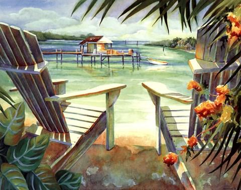Lazy Daze 1 Fine Art Print by Kathleen Denis at ...