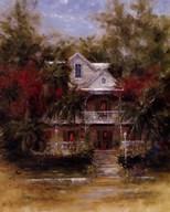 Keywest Cottage II  Fine Art Print