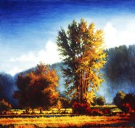Autumn Morning I Art