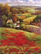 Valley View III  Fine Art Print