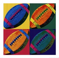 Ball Four - Football  Fine Art Print