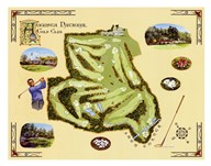 Golf Course Map-Augusta