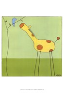 Stick-Leg Giraffe II  Fine Art Print