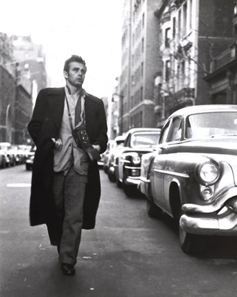 James Dean Broadway Wall Poster By Unknown At