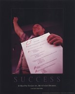 Success - C's Gets Degrees  Wall Poster