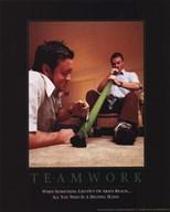 Teamwork - Bongtastic  Wall Poster
