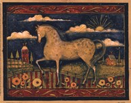 Farmhouse Horse Art