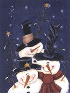 Snow Happy  Fine Art Print