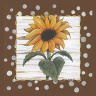 Polka Dot Sunflower