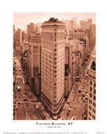 Flatiron Building, New York  Fine Art Print