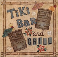 Tiki Bar  Fine Art Print