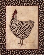 Spotted Chicken  Fine Art Print