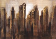 Flatiron Skyline Art