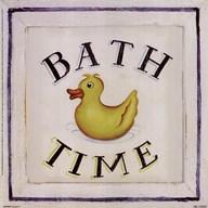 Bathtime I  Fine Art Print