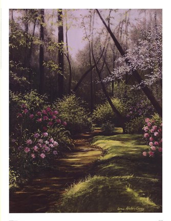 Framed Spring Woods Print