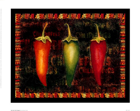 Framed Red Hot Chili Peppers I Print