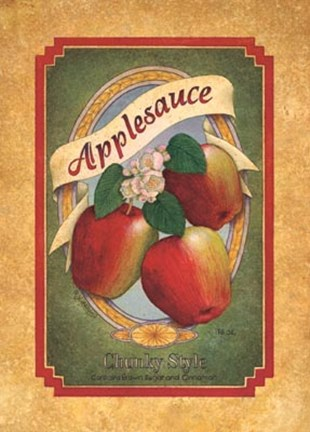 Framed Applesauce Print