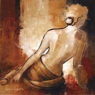 Seated Woman I  Fine Art Print