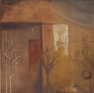 Inspiration In Ochre VI  Fine Art Print