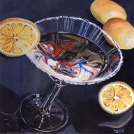 Martini - Lemon Art