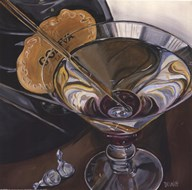 Martini - Chocolate Art