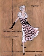 50&#39;s Dept Store Ads Elegant Style