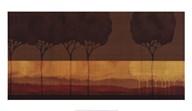 Autumn Silhouettes I  Fine Art Print