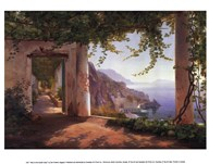 View to the Amalfi Coast Art