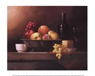 Wine and Cheese  Fine Art Print