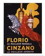Florio e Cinzano, 1930  Fine Art Print