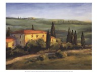 A Tuscan Morning  Fine Art Print