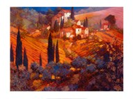 View from San Gimignano  Fine Art Print