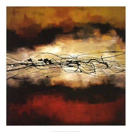 Harmony in Red and Ochre by Laurie Maitland art print