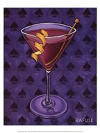 Martini Royale - Spades  Fine Art Print