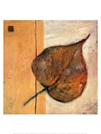 Leaf Impression - Ochre Art